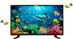Pantalla plana 32 24 40 pulgadas de color elegante TFT LCD LED TV de HD