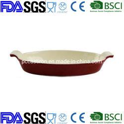 焦げ付き防止ハンドルのエナメルと、承認される健全な鋳鉄の調理器具BSCI LFGBのFDA