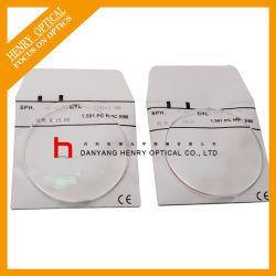 Tampo Plano 1.591 PC Bifocal lente óptica hc