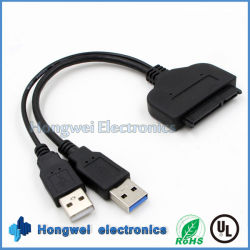 22 Pin USB 3.0 Gire SATA IDE USB Cable SATA de 2,5 pulgadas, Disco duro de ordenador