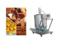 Rempli de base de sortie élevé des aliments de collation de bouffée de la machine