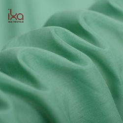 Luz Natural Verde Tingidos de cor sólida por grosso 9mm seda mistura de algodão Bolsas de malha fina