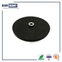 Magnete rivestito di gomma del POT, neodimio Potmagnet, POT del magnete con gomma