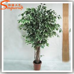2015 China Proveedor de plástico Artificial árbol plantas Bonsai de interior