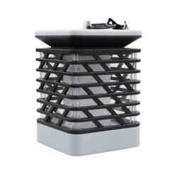 Solar jardín lámpara de mesa velas LED de luz colgantes Lámpara de entrenador al aire libre
