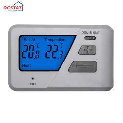 Custom Enregistrer contrôleur de température numérique de l'énergie avec interrupteur de mode de chauffer et refroidir