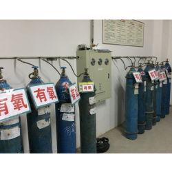 Usine à gaz pour l'oxygène génération avec bouteille d'oxygène de remplissage