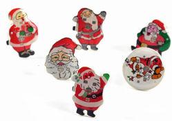 크리스마스 핫 셀 화이트 콧수염 산타 링 플래시