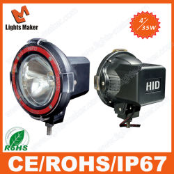 35With55With75W 4 duim - hoge Intensity HID Xenon Driving Light HID Spotlight HID 4X4 Offroad Driving Light