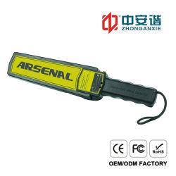 Ordinateur de poche rechargeable de haute qualité avec du détecteur de métal / sonore alarme vibratoire