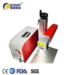 Laser die van de Codage van het Roestvrij staal van Cycjet Lf30 de Draagbare Machine merken