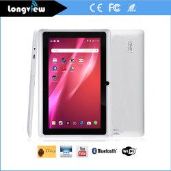 7 pouces Android 4.4 Quad Core, 512 Mo 8 Go avec deux caméras Tablet PC
