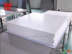 Vierge 100 % Feuille Feuille de téflon PTFE, avec la couleur blanche