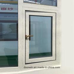 Couleurs de bois-Swing auvent Fenêtre avec finition en bois