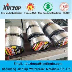 Fita auto-adesiva para impermeabilização de betume de borracha para materiais de cobertura