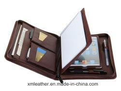 De functionele Omslag van het Dossier van het Leer van de Houder van de Portefeuille met de Houder van PC van de Tablet