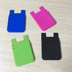Sy02-04-002 Téléphone Silicone Adhérent de promotion des portefeuilles avec autocollant de 3m