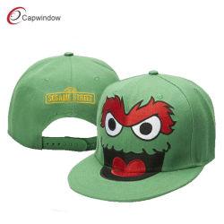 Bande dessinée populaire vert de la mode des casquettes de baseball pour enfants (08004)