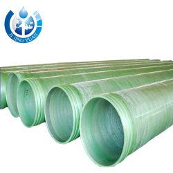 prix d'usine en fibre de verre GRP tuyaux souterrains anticorrosion PRF
