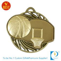 precio de fábrica con la medalla de bronce del baloncesto vaciar