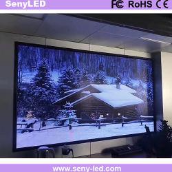小さいピクセル屋内フルカラーHDビデオ広告LEDパネル