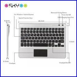 Laptop drahtlose Bluetooth Noten-Auflage-Tastatur