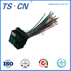 Câblage personnalisé audio automobile électrique le connecteur du faisceau de fils pour BMW