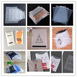 Aangepaste Recyclable Plastic Promotionele Eco Packaging Garment Reclosable Storage Zipper Zak