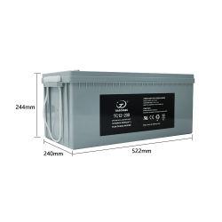 12V200ah Solar Systems Storage AGM VRLA Mf Battery