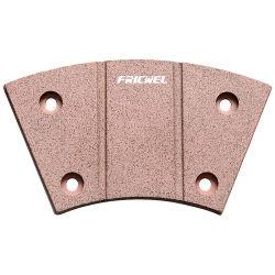 Fricwel Autoteile ISO 9001copper füllt Kupplung Button&#160 auf; Keramisches Friktions-Material