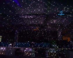 Мини-открытый закрытый RGB 3W Рождественская звезда этапе лазера