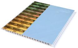 Alto brillo hoja sintética de PVC paneles de pared a pared interior Muebles Decoración de la superficie de techo