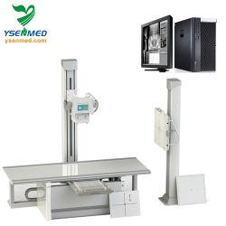 Máquina de rayos X digitales con detector de panel plano