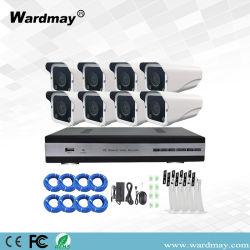 8CH Cores Poe Kit CCTV Câmara IP Sistema de Segurança em Casa