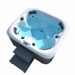 Piscina idromassaggio idromassaggio Jacuzzi Sauna all'aperto idromassaggio in plastica a basso prezzo Vasca da bagno