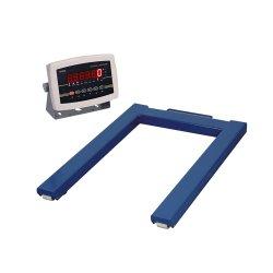 Tipo de suelo de tarima Weigher vigas Digital forma de U-escala de palet