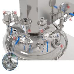 Venta caliente mezclador emulsificador de vacío de alto cizallamiento de equipos de mezcla de la homogeneización de la máquina