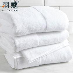 Algodão Jacquard Custom Hotel de alta qualidade Quarto Face mão branca Toalha de banho