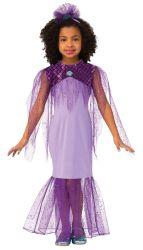 Kleding van de Fee van het Meisje van het Kostuum van Halloween van de Prinses van de manier de Purpere Mooie