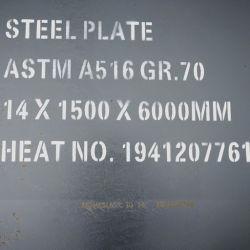 A36/Sq609L 1، L2 /SA516 درجة 55، 60، 65، 70 بلعة فولاذية/غلاية ضغط ودلفائف/موالفة/N+T/Qt