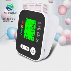 La frecuencia cardíaca automático digital portátil Tensiómetro de muñeca Pulso