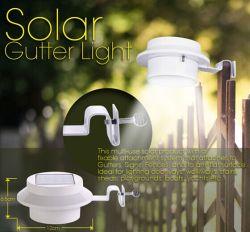 지능적인 센서 LED 램프가 옥외 태양 개골창에 의하여 LED 일요일 백색 힘 점화한다