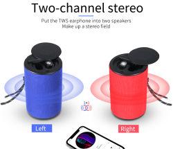 2 em 1 de verdadeira Wireless Bluetooth 5.0 auriculares com alto-falante, Tws fones de ouvido sem fio e altifalante de graves profundos