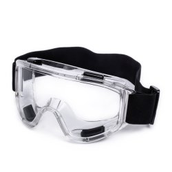 Gw023 Amplia visión oculta gafas de seguridad industrial con ajuste Universal