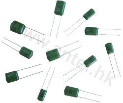Cl11 de la película de poliéster Capacitor (condensador de Mylar)