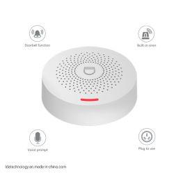 Voice prompt Mini Smart WiFi Alarm System Tuya APP Control Android iOS