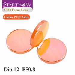 """Home lente per messa a fuoco laser CO2 Cina PVD ZnSe dia 12 F38,1mm diam. 12mm F38.1 50.8 50,8 mm 1.5"""" 2"""" per macchine per il taglio laser"""