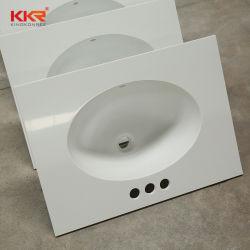 Piano da bagno in pietra acrilica in pietra solida artificiale