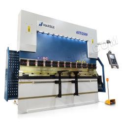 We67K-63t/2500 새로운 CNC 유압 Rebar 절단기 벤더