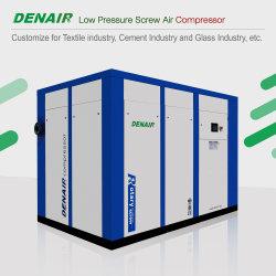 نوع إغلاق تبريد الهواء منخفض الضغط بمعدل 4 بار ضاغط الهواء اللولبي الدوار